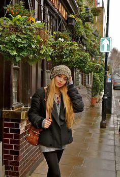 London Street Style: Lazy Sunday style