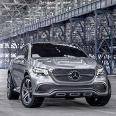 What might it look like if we introduced the lines of our pioneering four-door coupes to our family of standard-setting SUVs? Perhaps like this, the Concept Coupe SUV.   #mercedes #benz #coupe #SUV #concept #conceptcar #instacar #germancars