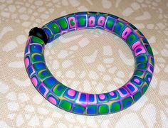 Playing with bangles - Polymerclay by KVJ