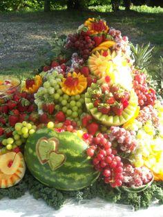 Fruit Display Ideas For Weddings | ... Indian Wedding Reception ...