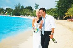 Get married on the beach at Grand Lido Negril, Jamaica #allinclusive