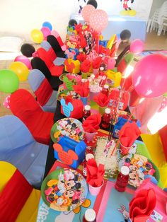 Mickey and Minnie Mouse themed kiddies party by Co-Ords Kidz Party Boutique