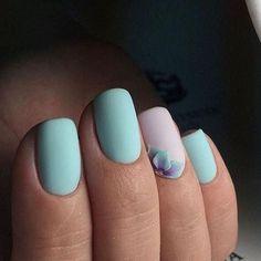 Uñas en tonos pastel http://beautyandfashionideas.com/unas-tonos-pastel/