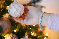 Jingle your Larimar bracelets all the way! Larimar Jewelry, Merry Christmas, Bracelets, Merry Little Christmas, Bangles, Happy Merry Christmas, Arm Bracelets, Wish You Merry Christmas, Bracelet