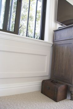 Hamptons Style Home using Intrim Group SK774 Architraves & Skirtings, CR57 Chair Rails and SN03 Sill Nosing
