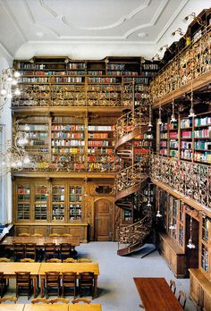 The Law Library Of Munich It's colorful, I thought at first it was fabric, ribbon and supplies!
