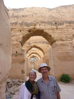 This is my wife and I at the Royal Stables, Meknes, Morocco. We traveled to Morocco to see the Tissa Horse Festival, an amazing event. Teams drawn from tribes gallop in formation, skid to a halt then fire muskets in unison over the heads of the crowd. I still sell a few horsebooks online, but it is a small business now, and I have diversified into other online  businesses.
