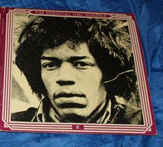 Jimi Hendrix  The Essential Jimi Hendrix with 7in and epitaph sleeves  LP Vinyl