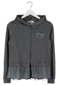 Sweat zippé - gris
