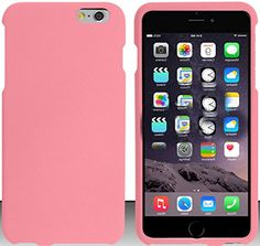 """myLife Pastel Flamingo Pink {Compact Slim Secure Fit} 2 Piece Snap-On Rubberized Protective Faceplate Case for the NEW iPhone 6 (6G) 6th Generation Phone by Apple, 4.7"""" Screen Version """"All Ports Accessible"""" myLife Brand Products http://www.amazon.com/dp/B00U0LU78Y/ref=cm_sw_r_pi_dp_ffhfvb171689W"""