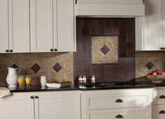 kitchen backsplash tile venetian gold granite amp cherry cabinets this is similar to 11466