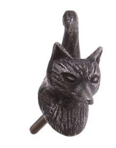 Mr Fox Drawer Knob - New fox animal furniture knob handle
