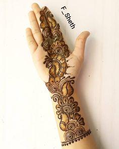 40 Latest Eid Mehndi designs to try in 2019 – Henna 2020 Eid Mehndi Designs, Latest Arabic Mehndi Designs, Full Hand Mehndi Designs, Henna Art Designs, Mehndi Designs For Girls, Wedding Mehndi Designs, Simple Mehndi Designs, Rangoli Designs, Arabian Mehndi Design