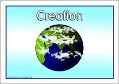 Creation Story visual aids (SB1054) - SparkleBox