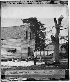 African American Slaves prepare cotton for a cotton gin on Smith's Plantation, Port Royal Island, South Carolina in Reproduction x Civil War photo. Our photos are made of great quality material and printed on a high end, high quality Photo Art Printer. Old Pictures, Old Photos, Vintage Pictures, Antique Photos, Vintage Photographs, Digital Story, Underground Railroad, Critique, Civil War Photos