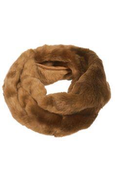 Lux Twist Fur Snood