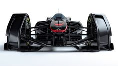 For McLaren designers, the obvious next step in the evolution of Formula racing is the removal of physical controls to be replaced by thought control
