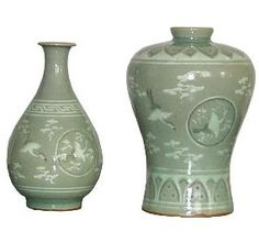 Celadon, a famous type of ancient Chinese stoneware, came into being during the period of the Five Dynasties (907-960). It is characterized by simple but refined shapes, jade-like glaze, solid substance and a distinctive style. As the celadon ware produced in Longquan County. Zhejiang Province, is most valued, so  Read more