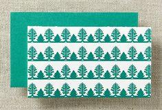 S/12 Forest Mini Cards, Green on OneKingsLane.com