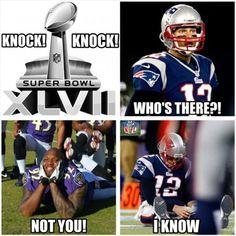 Haha Tom Brady!