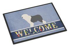 Old English Sheepdog Bobtail Indoor or Outdoor Mat 18x27 BB8294MAT