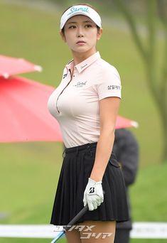 Tennis Outfits, Golf Outfit, Sexy Outfits, Cute Asian Girls, Hot Girls, Curvy Celebrities, Sexy Golf, Girls Golf, Beauty Full Girl