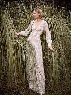 A Feast of Texture: Costarellos Wedding Dresses 2018 | OneFabDay.com