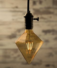Vintage Light Bulb LED - Sharp Diamond 4 filaments LED - William&Watson