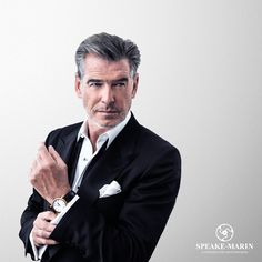 Pierce Brosnan for Speake-Marin by Marco Grob