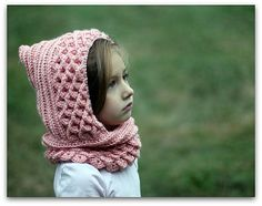 Crocodile Stitch Hood (Kids)