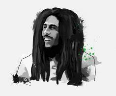 Bob Marley, Tinted Style   http://www.yourpainting.de/motive-artikel/bob-marley