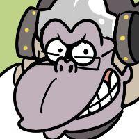 Overwatch Winston artwork / icon,'