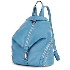 Ofertas de mochilas escolares piel con estilos bolso de viaje lisas para mujeres [VL10442] - €60.85 : bzbolsos.com, comprar bolsos online