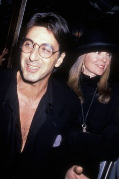 They Dated Pt. 2: Al Pacino and Diane Keaton, love this pair