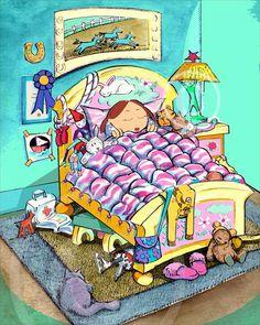 Bedroom illustration 1996
