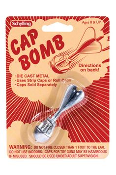 Vintage Toys Cap Bomb Dime Store Toy - Load your cap and throw your Cap Bomb at any hard surface and POW!Includes 1 Die Cast Metal Cap BombUses Strip or Roll CapsCaps Sold SeparatelyMeasures: 3 inches LongFor Ages 8 My Childhood Memories, Childhood Toys, Family Memories, Sweet Memories, This Is Your Life, In This World, Gi Joe, Boys Easter Basket, Do It Yourself Baby