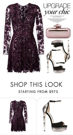 """Zuhair Murad Dress ❤️️"" by razone ❤ liked on Polyvore featuring Zuhair Murad and Jimmy Choo"