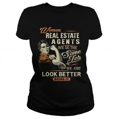 Real Estate Agent T Shirts, Hoodies. Check price ==► https://www.sunfrog.com/Jobs/Real-Estate-Agent-104346406-Black-Ladies.html?41382 $24.99
