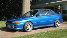 Subaru Impreza RS. I want one.