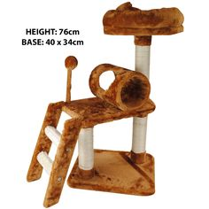 Pet-Cat-Kitten-Climbing-Tree-Play-Furniture-Scratching-Post-Bed-Rest-Platform