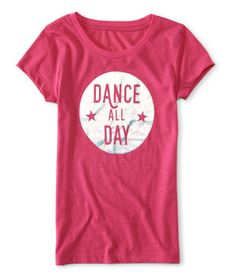 Kids' Dance All Day Graphic T -