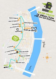 plan-balade-insolite-vieux-lyon Road Trip France, France Travel, France Europe, Travel Advice, Travel Guide, Week End Lyon, Lyon City, Journey Tour, Travel Tips
