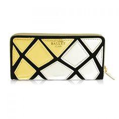 Fashion Geometric and Color Block Design Women's Clutch Wallet, GOLD in Women's Wallets   DressLily.com