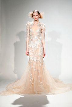 Behati Prinsloo's wedding gown - LaiaMagazine