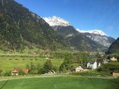 View from the Wilhelm Tel Express Switzerland Summer, Switzerland Tour, Swiss Travel Pass, Travel Flights, Train Tour, Summer 2016, Golf Courses, Tours, Green