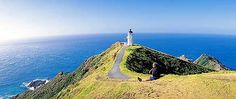 New Zealand Tourist Attractions and Icons - Cape Reinga, Waitangi Treaty Grounds