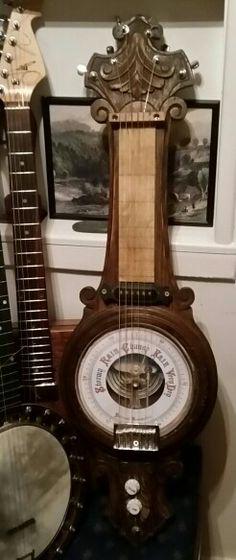 Barometer slide guitar