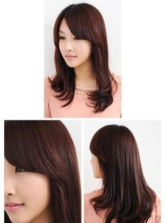 long layered asian hair - Google Search