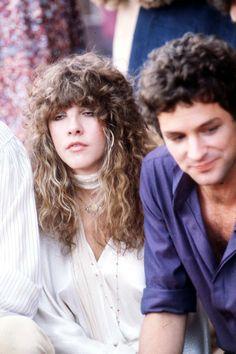 "crystallineknowledge: "" ""Stevie and Lindsey at the presentation of Fleetwood Mac's star on Hollywood's Walk of Fame in "" More: X "" Stevie Nicks Lindsey Buckingham, Buckingham Nicks, Stephanie Lynn, Stevie Nicks Fleetwood Mac, Jim Morrison, Beautiful Voice, Pink Floyd, American Singers, Role Models"