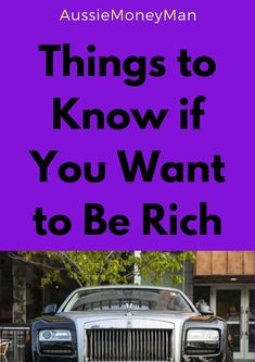 6 great things to know if you want to be rich! Personal Finance Articles, Finance Tips, Retirement Advice, Debt Repayment, How To Become Rich, Financial Success, Make More Money, Things To Know, Saving Money